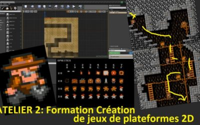 Jeu de plates-formes 2D: du Game Concept au Level Design sous Unreal Engine 4 (ATL02)