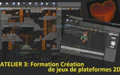 Personnage et interactions dans un jeu de plates-formes 2D sous Unreal Engine 4 (ATL03)