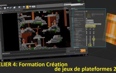 Combats, Pièges et autres éléments de Gameplay dans un jeu de plates-formes 2D sous Unreal Engine 4 (ATL04)