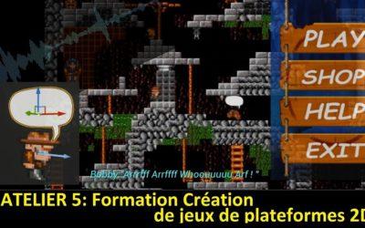Finaliser son jeu de plates-formes 2D sous Unreal Engine 4 (ATL05)