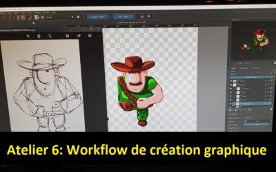 Du concept art aux Sprites animés pour les non-graphistes (ATL06)